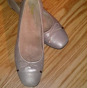 Clark Artisan Candra Ballet Flats size 8